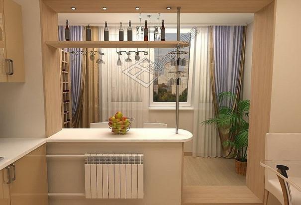 Совмещенные балконы дизайн