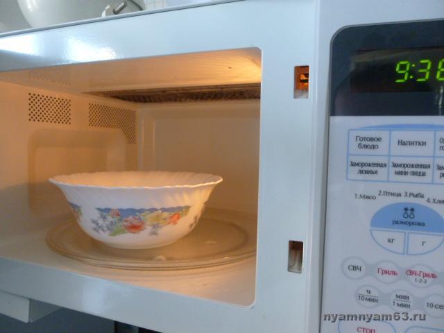 посуда в микроволновке фото