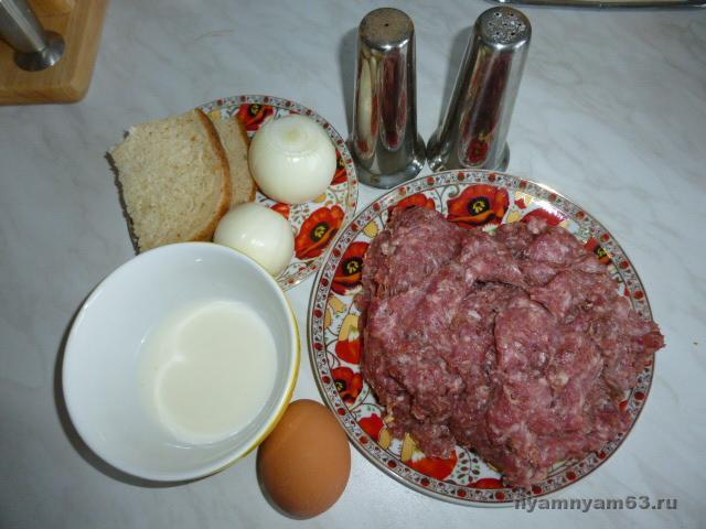 Рецепт котлет из фарша свинины классический